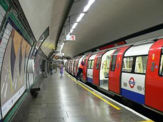 Metro in Londen