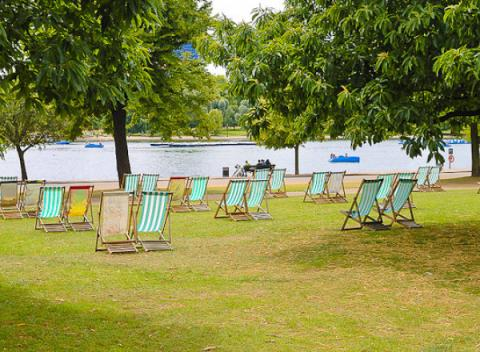 Relaxen in Hyde Park