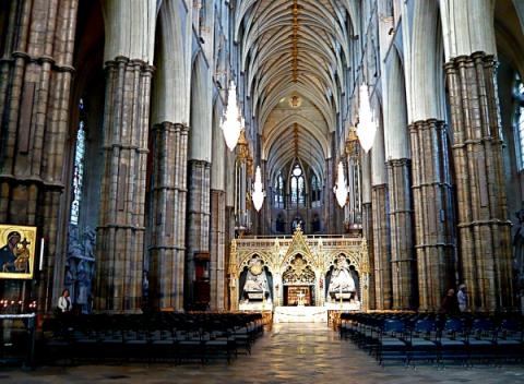 Interieur Westminster Abbey