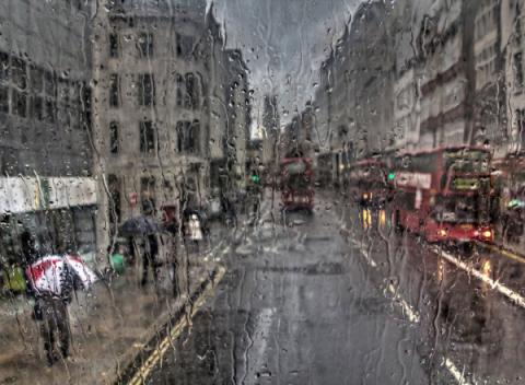 Het weer in Londen