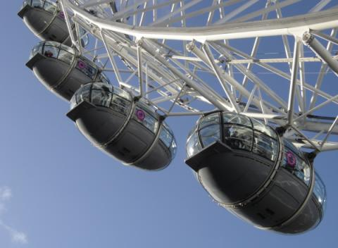Capsules van de London Eye